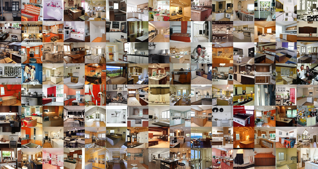Grid of Kitchen images